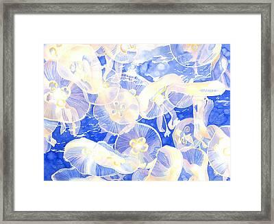 Jellyfish Jubilee Framed Print