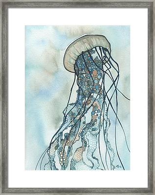 Jellyfish Three Framed Print by Tamara Phillips