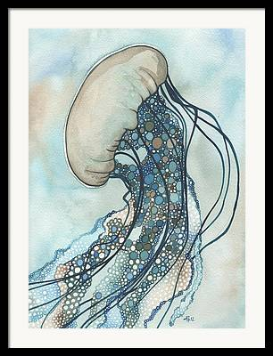 Jellyfish Framed Prints