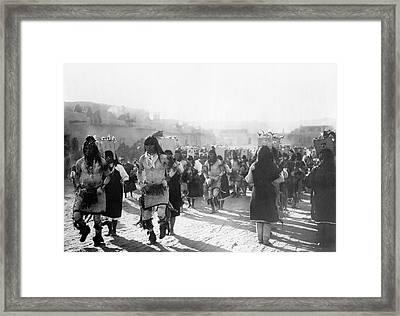 Jemez Ceremonial Dance Framed Print