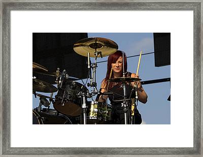 Jen Ledger Of Skillet Framed Print