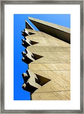 Jenga Framed Print by Design Turnpike