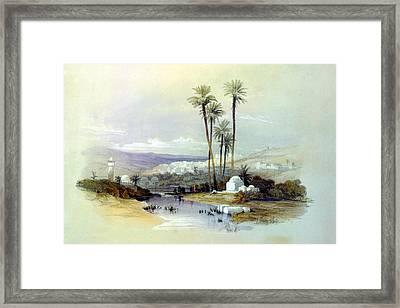 Jenin Ancient Jezreel 1839 Framed Print