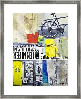 Jenn Framed Print by Elena Nosyreva