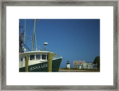Jenna Lee Framed Print by Amazing Jules