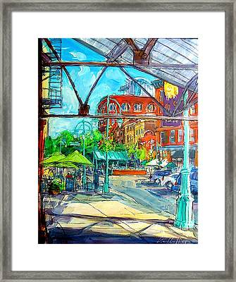 Jennaro's View Framed Print