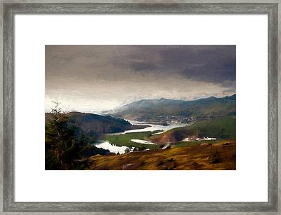 Jenner On The Coast Framed Print
