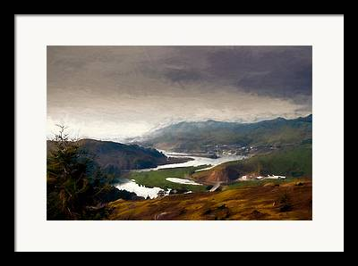 Sonoma County Mixed Media Framed Prints