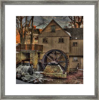 Jenney Grist Mill Framed Print by Jack Costello