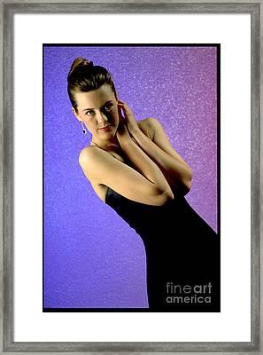 Jennifer Formal Lbd Framed Print by Gary Gingrich Galleries