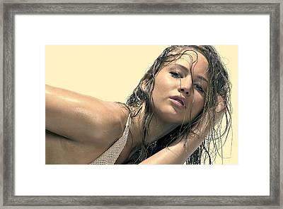Jennifer Lawrence  Framed Print