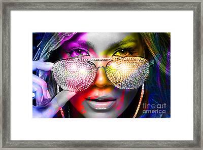 Jennifer Lopez  Framed Print