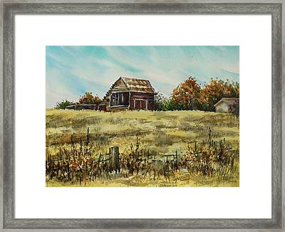 Jennings Barn Framed Print