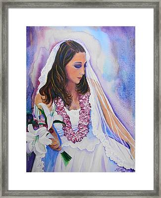 Framed Print featuring the painting Jenny by Margaret Bobb