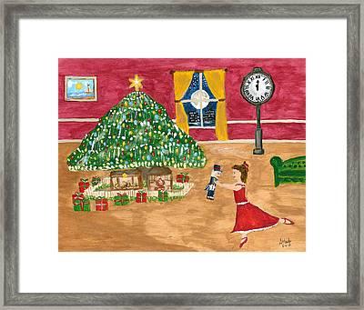 Jennys Nutcracker Ballet Framed Print