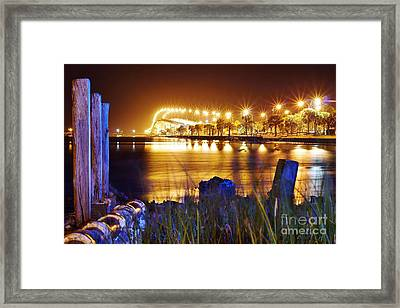 Jensen Causeway From N W Side Framed Print