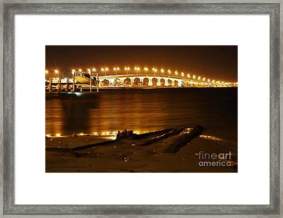 Jensen Causeway From The Snook Nook Framed Print