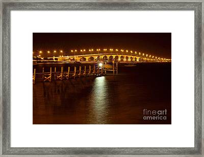 Jensen Causeway W - Snook Nook Light Framed Print
