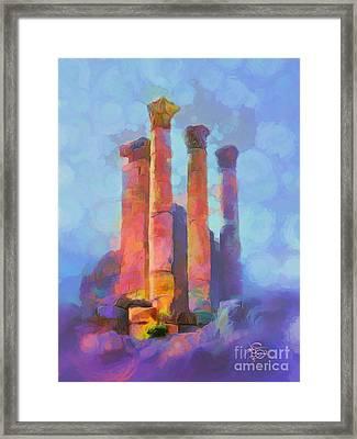 Jerash Framed Print