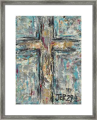 Jeremiah Cross Framed Print