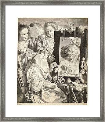 Jeremias Falck Polish Ca. 1609-1677 Possibly After Johann Framed Print by Litz Collection