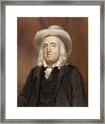 Jeremy Bentham Framed Print by Paul D Stewart