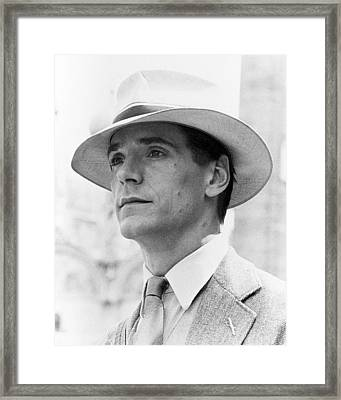 Jeremy Irons In Brideshead Revisited  Framed Print by Silver Screen