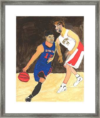 Jeremy Lynn The Amazing Framed Print by Nat Solomon