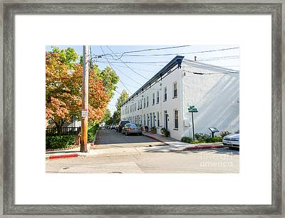 Framed Print featuring the photograph Jeremys Way by Charles Kraus
