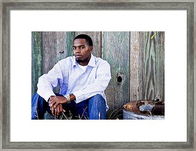 Jermaine_1 Framed Print by Ivete Basso Photography