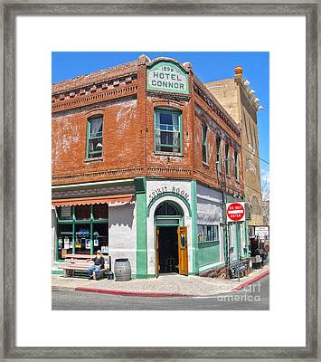 Jerome Arizona - Hotel Conner - 02 Framed Print by Gregory Dyer