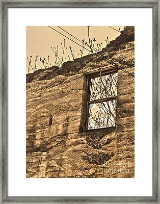 Jerome Arizona - Ruins - 01 Framed Print by Gregory Dyer