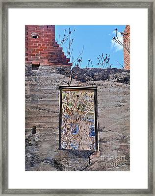 Jerome Arizona - Ruins - 02 Framed Print by Gregory Dyer