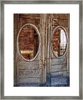 Jerome Arizona - Saloon Framed Print by Gregory Dyer