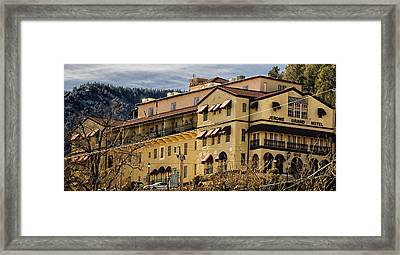 Jerome Grand Hotel No.18 Framed Print