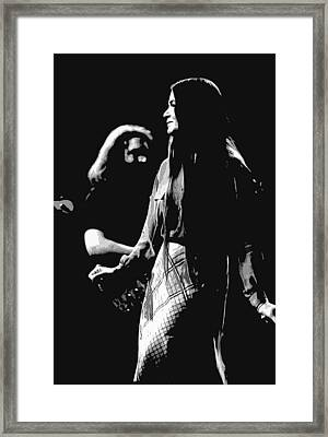 Jerry And Donna Godchaux 1978 A Framed Print