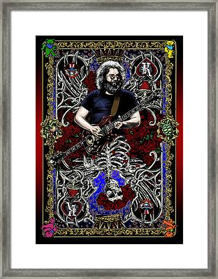 Jerry Card Framed Print