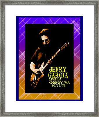 Framed Print featuring the photograph Jerry Cheney 1 by Ben Upham