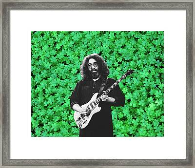 Framed Print featuring the photograph Jerry Clover 1 by Ben Upham