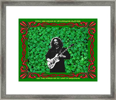 Framed Print featuring the photograph Jerry Clover 3 by Ben Upham