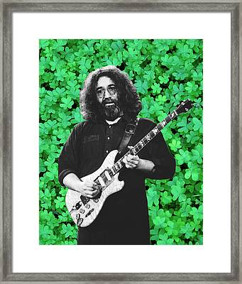 Framed Print featuring the photograph Jerry Clover 4 by Ben Upham