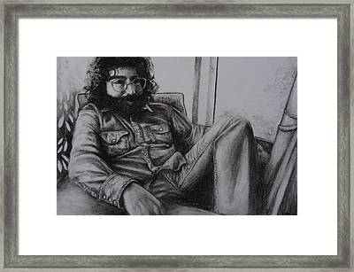 Jerry Garcia In '72   Framed Print