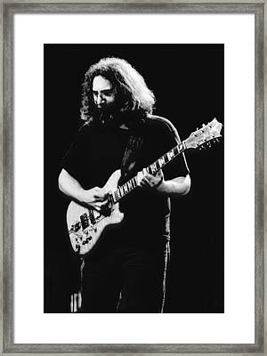 Jerry Garcia In Cheney 1978 Framed Print