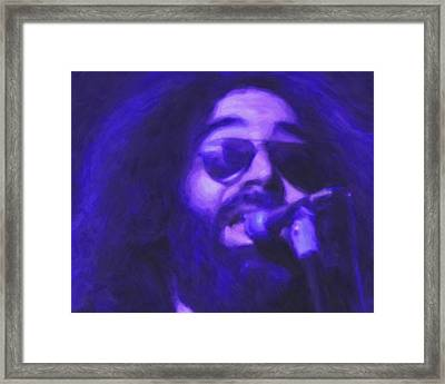 Jerry Garcia Framed Print by Michael Pickett