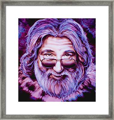 Jerry Garcia Framed Print by Mike Underwood