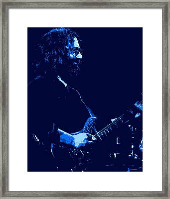 Jerry Happy At Winterland 2 Framed Print