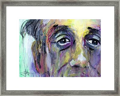 Jerry Framed Print by Jim Vance