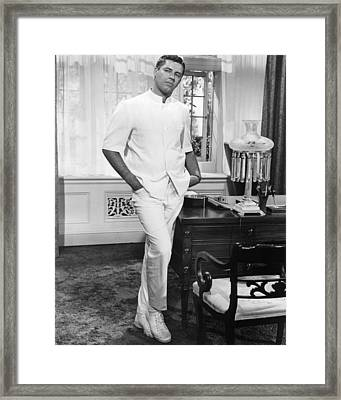 Jerry Lewis In The Disorderly Orderly  Framed Print by Silver Screen