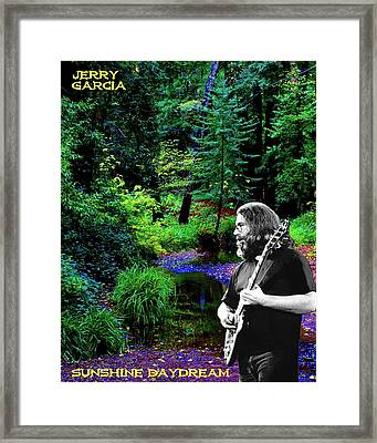 Framed Print featuring the photograph Jerry's Sunshine Daydream by Ben Upham