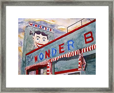 Jersey Boy Framed Print by Brian Degnon